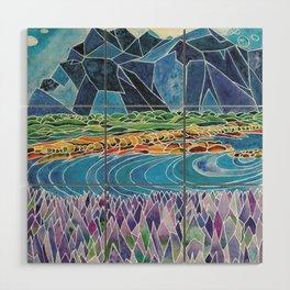 Lavender Fields Wood Wall Art