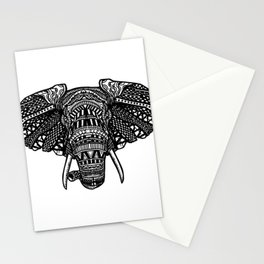 Elephant Mandala Stationery Cards