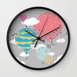 Up-Up & Away! Wall Clock