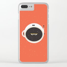 The Spaceman on Mars Clear iPhone Case