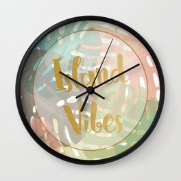 Island Viber Wall Clock