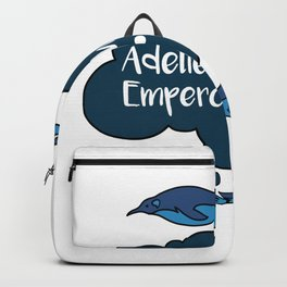 Adelie Chinstrap Emperor Gentoo Penguins Backpack