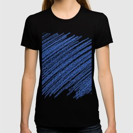 Blue lining Abstract Background T-shirt