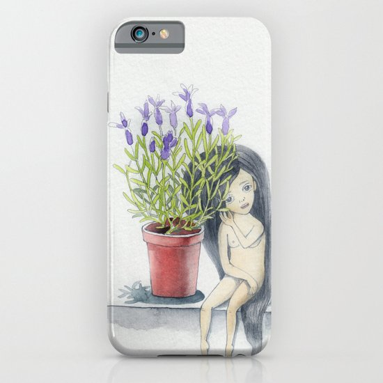 listening to the lavender's breath iPhone & iPod Case