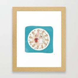 The Royal Wedding - Hyper Value Framed Art Print