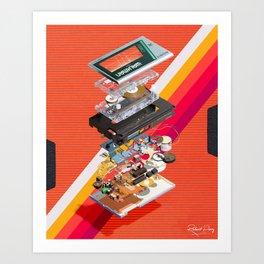 Walkman Art Print