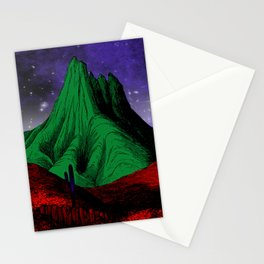 Painting in the Dark Stationery Cards