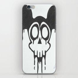 gothic mickey iPhone Skin