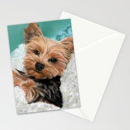 Chewie the Yorkie Stationery Cards