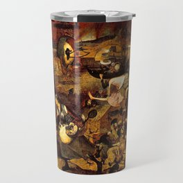 Mad Meg by Heironymus Bosch Travel Mug