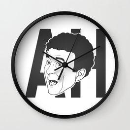 AH ! Denis Brogniart's famous gimmick (charcoal) Wall Clock