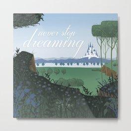 Dreaming Castle Metal Print