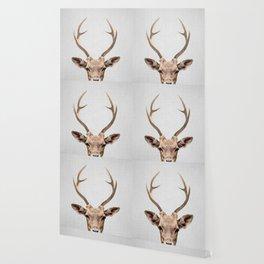Deer - Colorful Wallpaper
