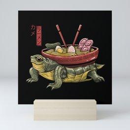 Kame Ramen Mini Art Print