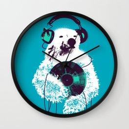 Record Bear Wall Clock
