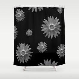 Monochrome Shower Curtain