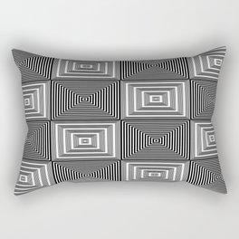 Corridors of Illusion Rectangular Pillow