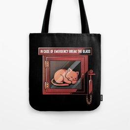 Emergency Cat Tote Bag