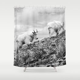 MOUNTAIN GOATS // 4 Shower Curtain