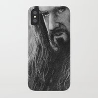 thorin iPhone & iPod Cases featuring Thorin by AnastasiumArt