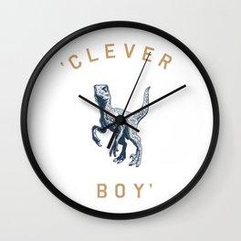 Clever Boy Wall Clock