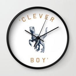 Clever Boy Wall Clock