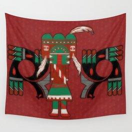 Visions Of Hopi Wall Tapestry