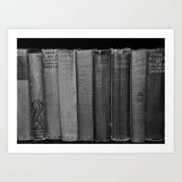 First Editions (wide view) Art Print