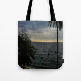 Dreamy Mexican Beach Sunset Tote Bag