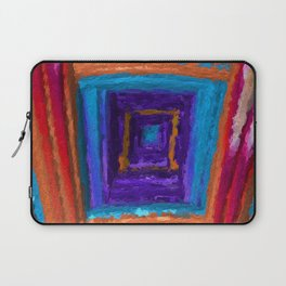 Boxed In. Abstract Art by Tito Laptop Sleeve