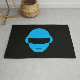 Daft Punk Thomas Bangalter Helmet Rug