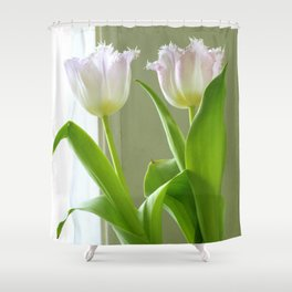 two lips, take two Shower Curtain