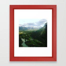 Tunnel Mountain Framed Art Print