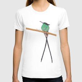 Jamaican Long Tail Humming Bird T-shirt