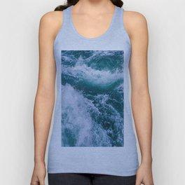 Blue Ocean Waves 3 Unisex Tank Top