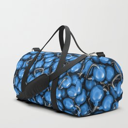Kettlebells BLUE Duffle Bag