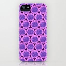 Roses Motif - illustration by Maxime Potvin iPhone Case