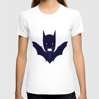 bat man T-shirts featuring bat by Nir P