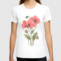 poppies T-shirts featuring POPPIES by Oana Befort