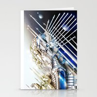 sci fi Stationery Cards featuring Sci-Fi Series 1 by eos vector