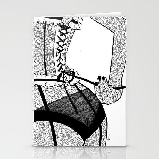 La femme n.7 Stationery Cards