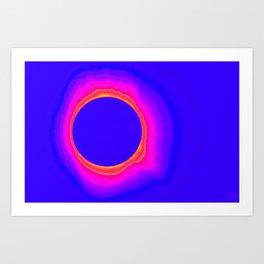 Radiate Color Art Print