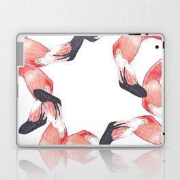 Red Flamingos Laptop & iPad Skin