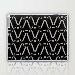 """Patterned - The Didot """"j"""" Project Laptop & iPad Skin"""
