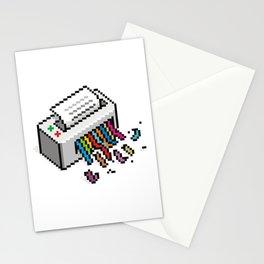 Input Output Stationery Cards