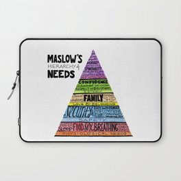 Maslow's Hierarchy of Needs, II Laptop Sleeve