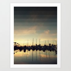 Fading Skies Art Print