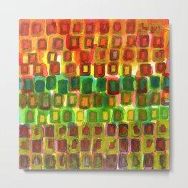Frames under Color Metal Print