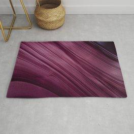 Purple Waves Rug