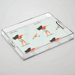 Skater Girl Acrylic Tray